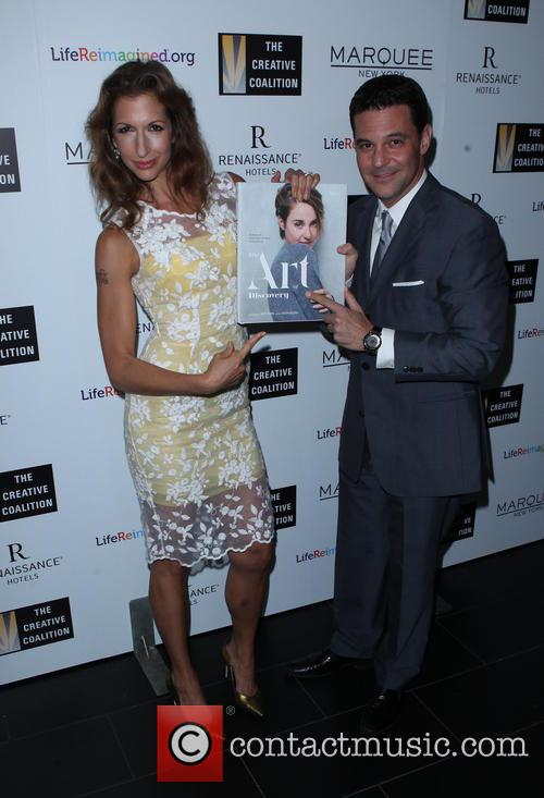 Alysia Reiner and David Alan Basche 1