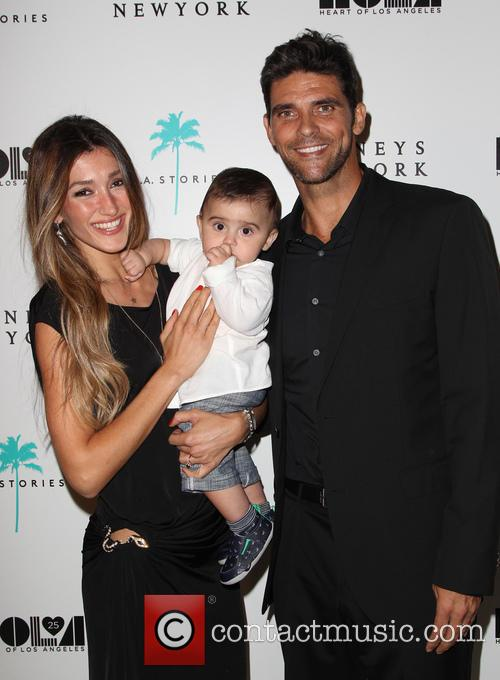 Mark Philippoussis, Silvana Lovin and Nicolas Philippoussis