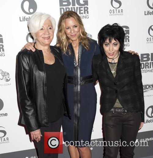 Olympia Dukakis, Maria Bello and Joan Jett