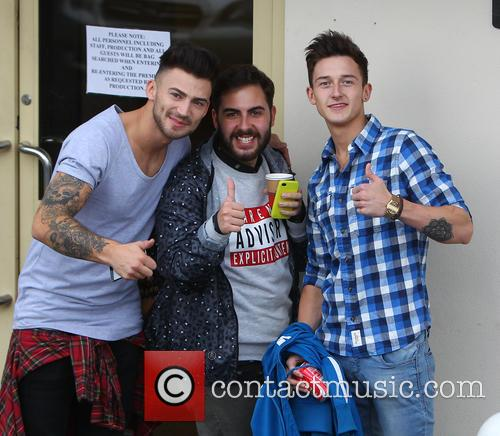 Jake Quickenden, Andrea Faustini and Jack Walton