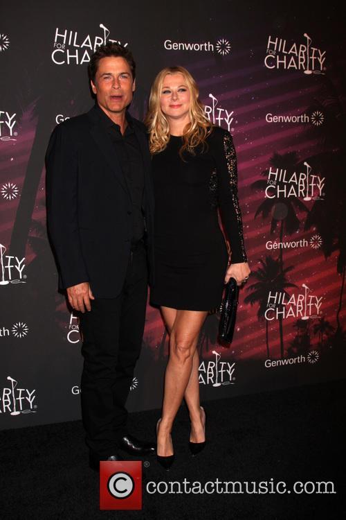 Rob Lowe and Sheryl Lowe
