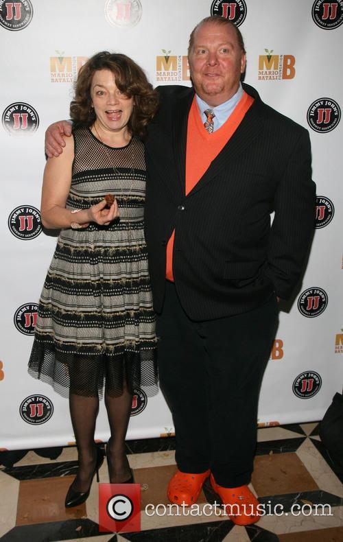 Kate Krader and Mario Batali 6