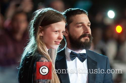 Shia Labeouf and Mia Goth 1