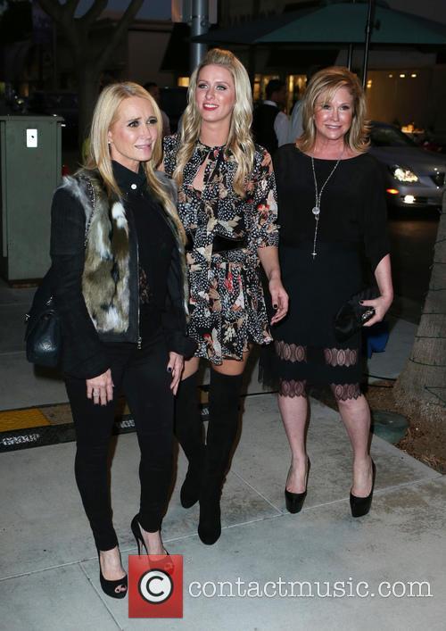 Kim Richards, Nicky Hilton and Kathy Hilton 1
