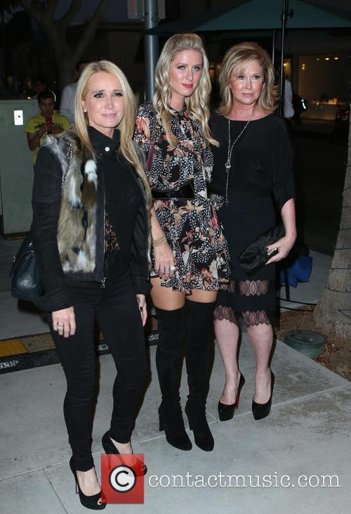 Kim Richards, Nicky Hilton and Kathy Hilton 2