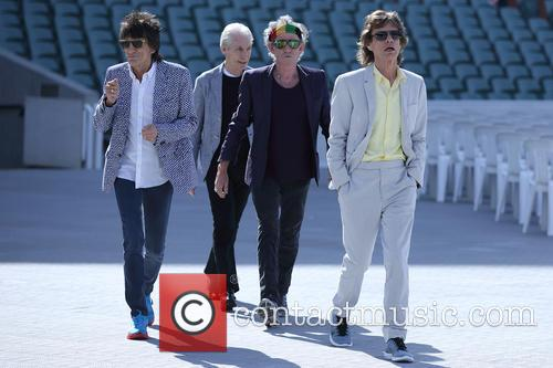 The Rolling Stones, Mick Jagger, Charlie Watts, Keith Richards and Ronnie Wood 5