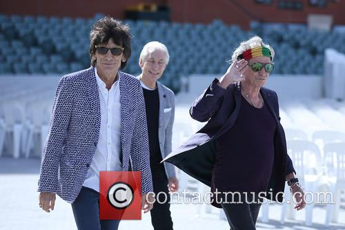 The Rolling Stones, Mick Jagger, Charlie Watts, Keith Richards and Ronnie Wood 8
