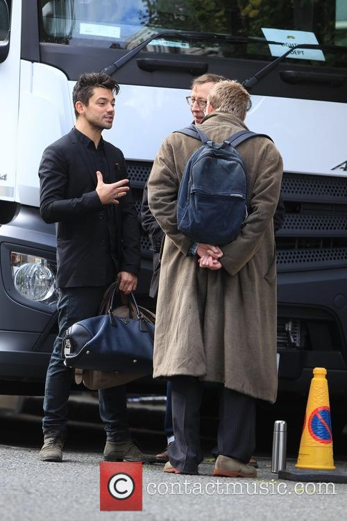 Dominic Cooper and Alan Bennett 5