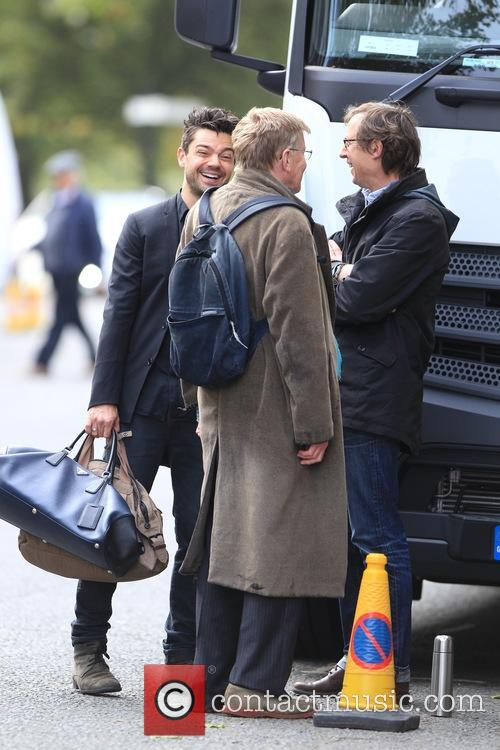 Dominic Cooper and Alan Bennett 7