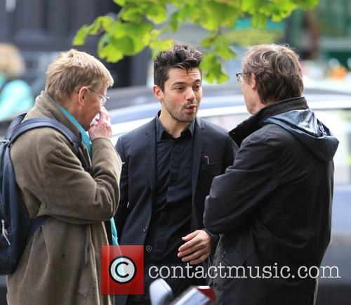 Dominic Cooper and Alan Bennett 8