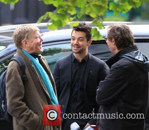 Dominic Cooper and Alan Bennett 9