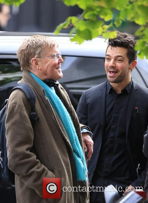 Dominic Cooper and Alan Bennett 10
