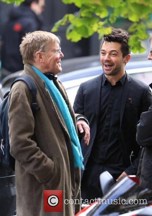 Dominic Cooper and Alan Bennett 11