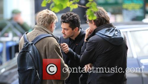 Dominic Cooper and Alan Bennett 1