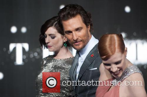 Matthew Mcconaughey, Jessica Chastain and Anne Hathaway