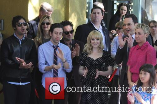 Kaley Cuoco, Jim Parsons, Melissa Rauch, Johnny Galecki, Simon Helberg and Kunal Nayyar