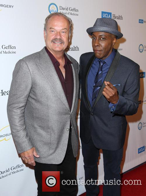 Kelsey Grammer and Arsenio Hall