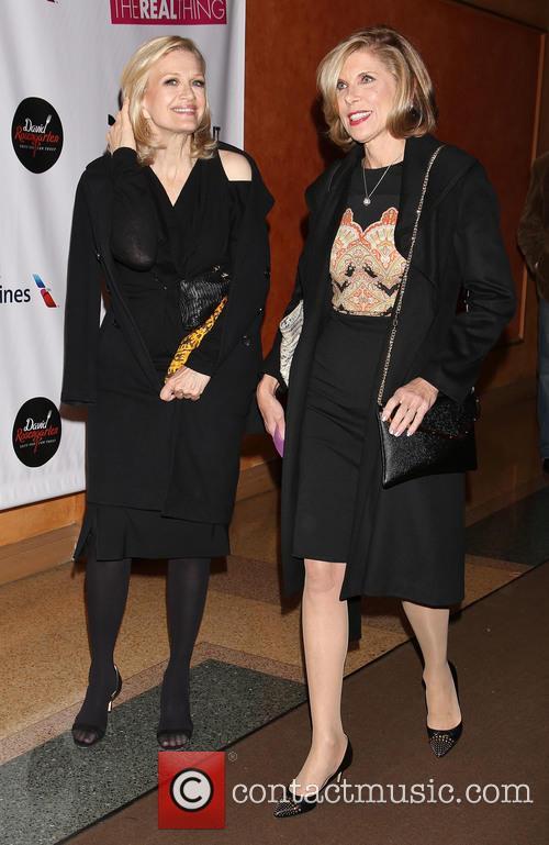 Diane Sawyer and Christine Baranski