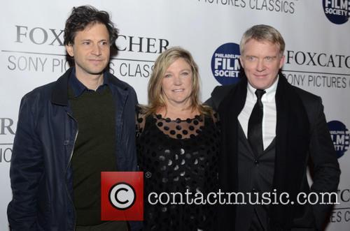 Bennett Miller, Nancy Schultz and Anthony Michael Hall 2