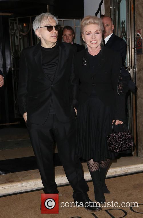 Chris Stein and Deborah Harry