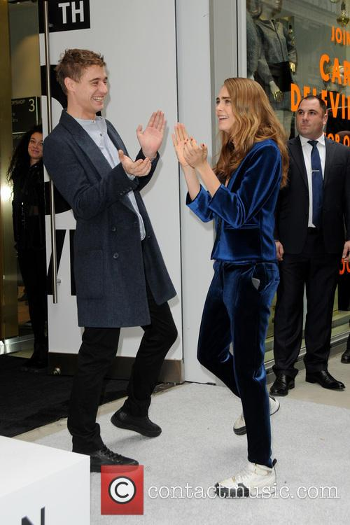 Max Irons and Cara Delevingne