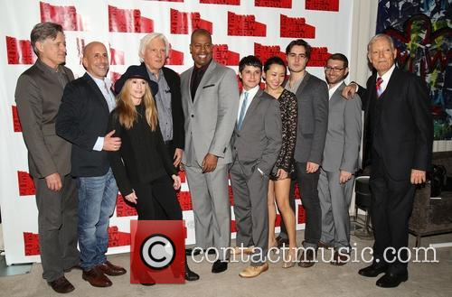 Bill Pullman, Scott Elliott, Holly Hunter, David Rabe, Morocco Omari, Raviv Ullman, Nadia Gan, Ben Schnetzer, Adam Bernstein and Richard Chamberlain