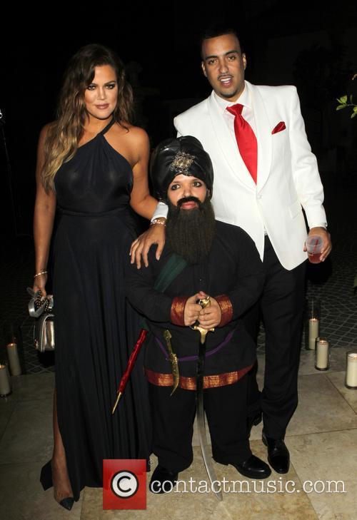 Khloé Kardashian and French Montana 2