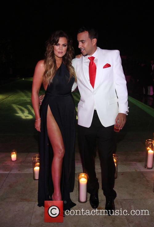 Khloé Kardashian and French Montana 1