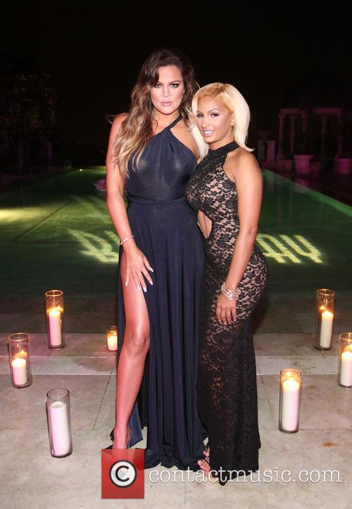 Khloé Kardashian and Zoe Yang 4