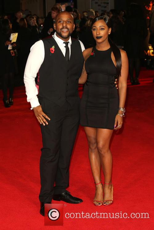 Alexandra Burke and Brother