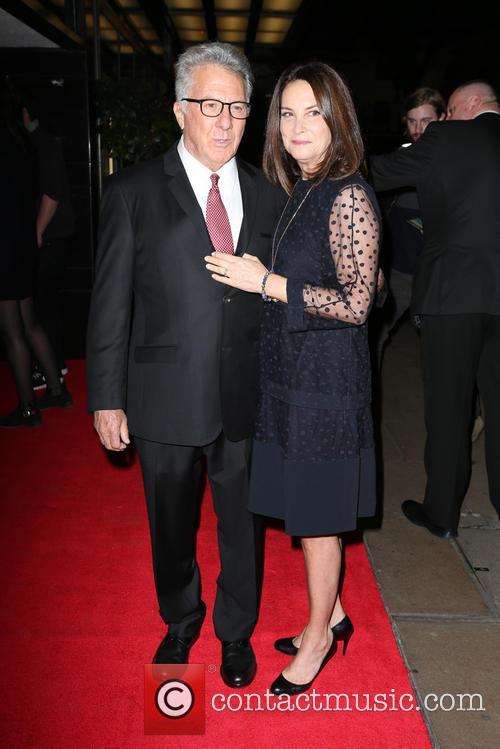 Dustin Hoffman and Lisa Hoffman 5