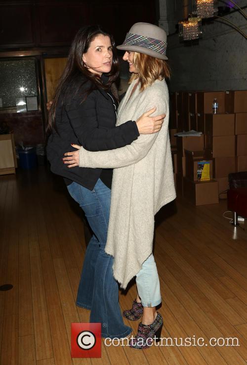 Julia Ormond and Madchen Amick