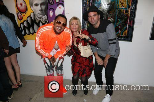 Karen Bystedt, Chris Brown and Danny Minnick