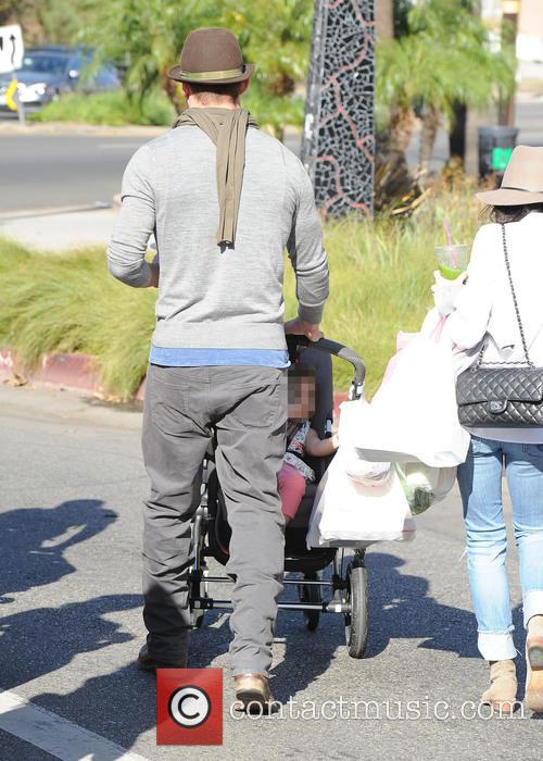 Channing Tatum, Jenna Dewan and Everly Tatum 2