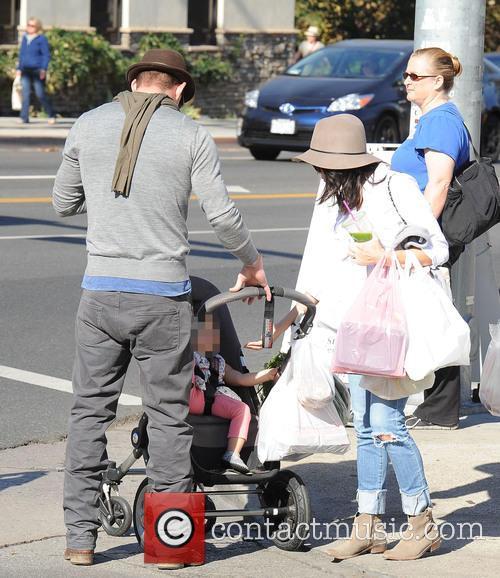 Channing Tatum, Jenna Dewan and Everly Tatum 4