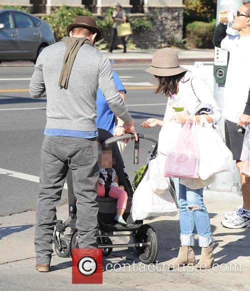 Channing Tatum, Jenna Dewan and Everly Tatum 7