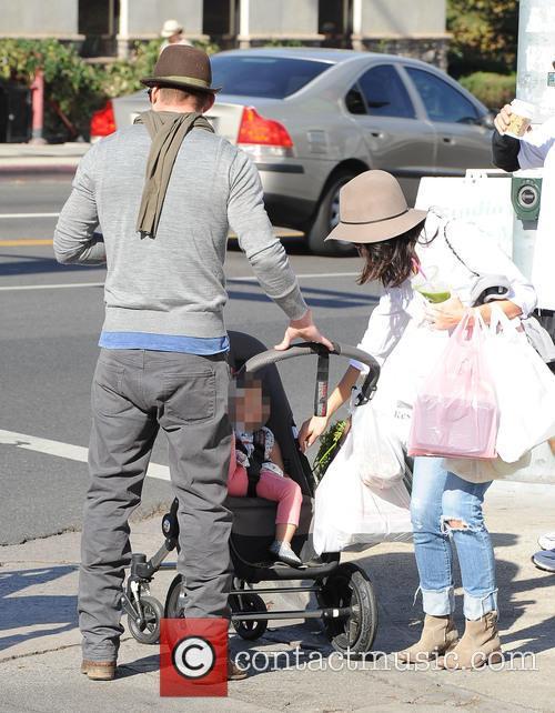 Channing Tatum, Jenna Dewan and Everly Tatum 9