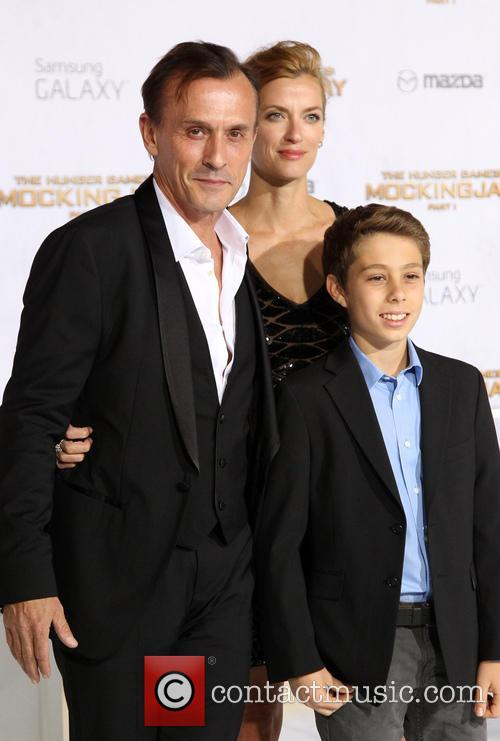 Robert Knepper, Nadine Kary and Benjamin Knepper