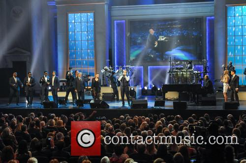 Boyz Ii Men, Josh Groban, Gavin Degraw, Natalie Maines, Kevin Spacey, Leann Rimes and Billy Joel 3