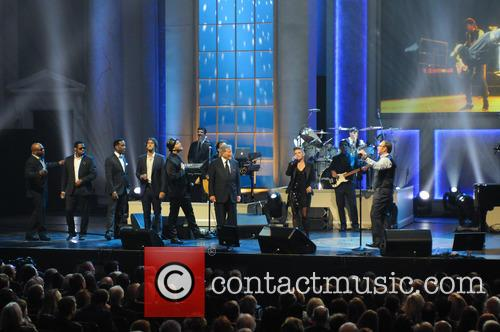 Boyz Ii Men, Josh Groban, Gavin Degraw, Natalie Maines and Kevin Spacey 2