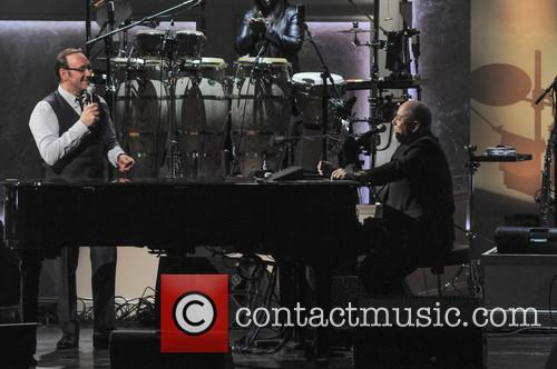 Billy Joel and Kevin Spacey 9