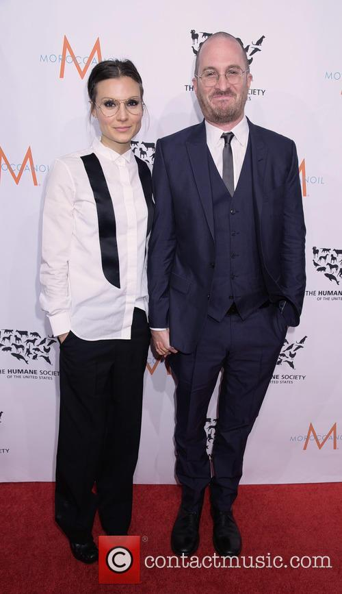 Brandi Milbradt and Darren Aronofsky