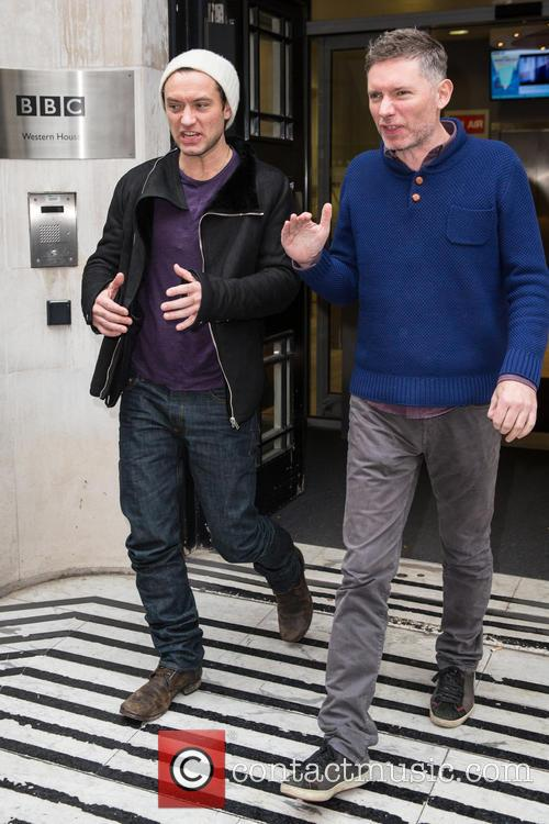 Jude Law and Kevin Macdonald 5
