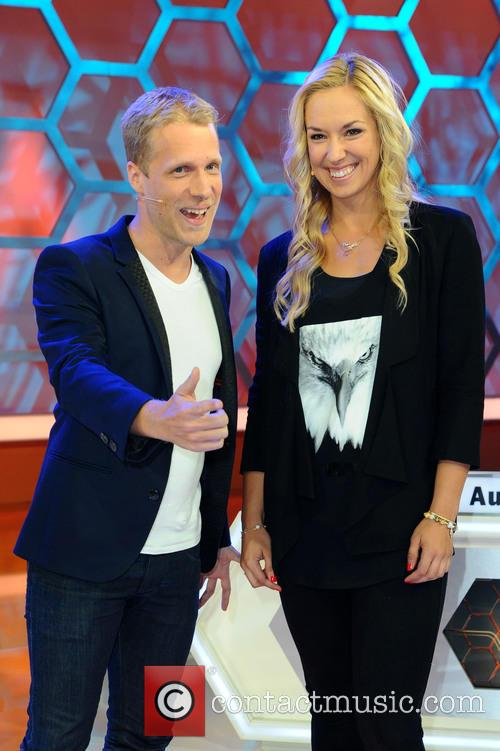 Berlin, Oliver Pocher and Sabine Lisicki