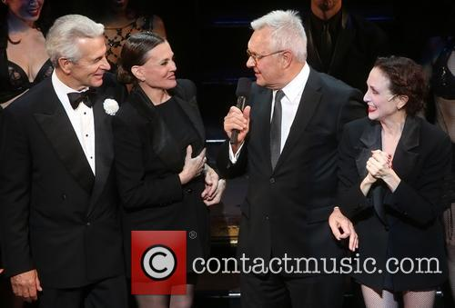James Naughton, Ann Reinking, Walter Bobbie and Bebe Neuwirth