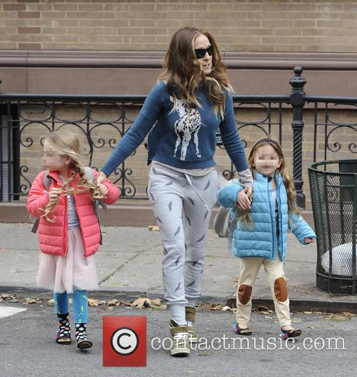 Sarah Jessica Parker, Marion Broderick and Tabitha Broderick