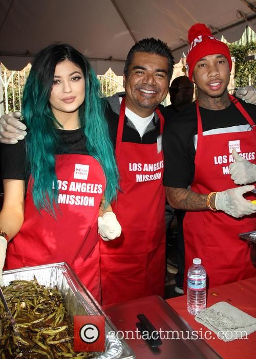 Kylie Jenner, George Lopez and Tyga 10