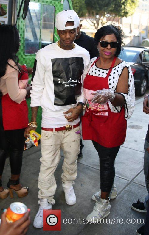 Mama Kingston and Soulja Boy