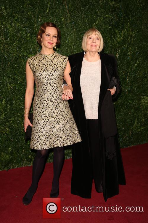 Diana Rigg and Rachael Stirling