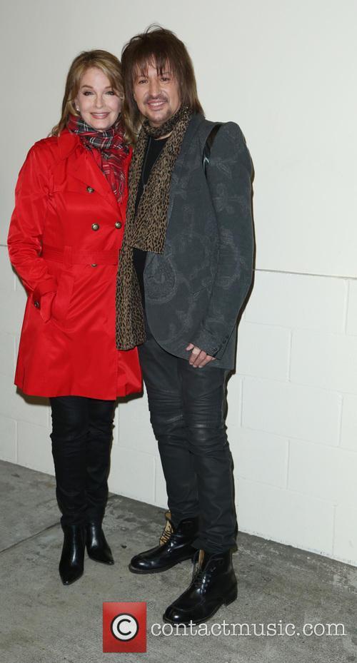 Deidre Hall and Richie Sambora